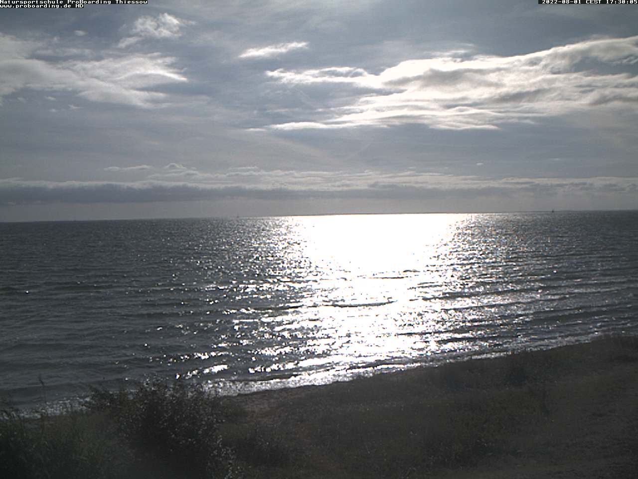 Webcam Thiessow beach - alle 10 Minuten neu